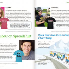 YouTube Shop Partners Featured in our Winter Catalog