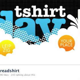 Free Shipping and a virtual Flashmob – Spread the Love, 21st of June is T-Shirt Day!