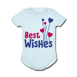 best wishes baby suit