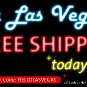 Viva Las Vegas – Free Shipping Only Today