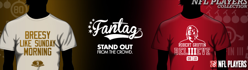 Official NFL gear from Fantag Tees