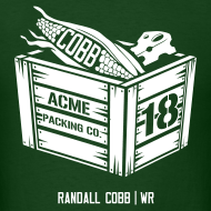Randall Cobb t-shirt design