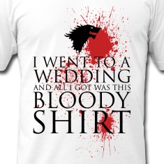 Red Wedding T Shirts