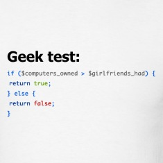 Ultimate Geek Test Design