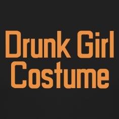 Drunk Girl Costume T-Shirt