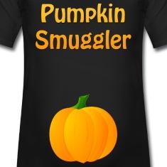 Pumpkin Smuggler Halloween Maternity T-Shirt