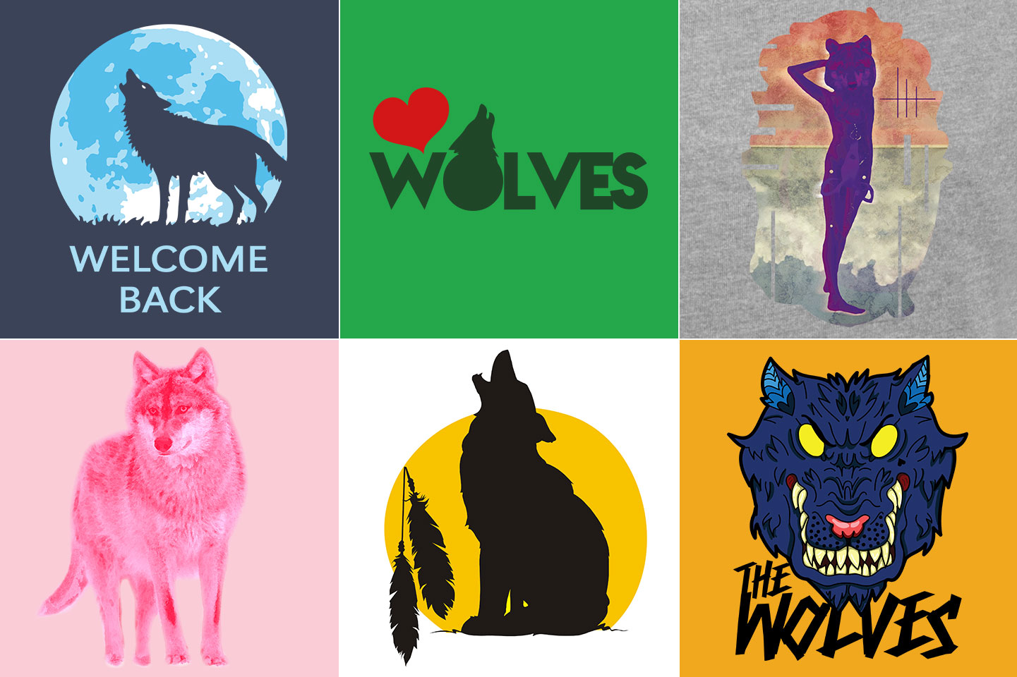 Wolf T-Shirts: Wolves are the New Owls