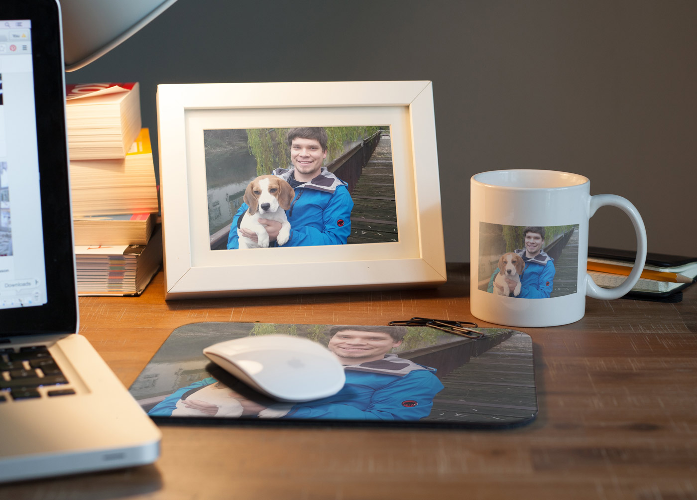 Editing pictures for photo gifts