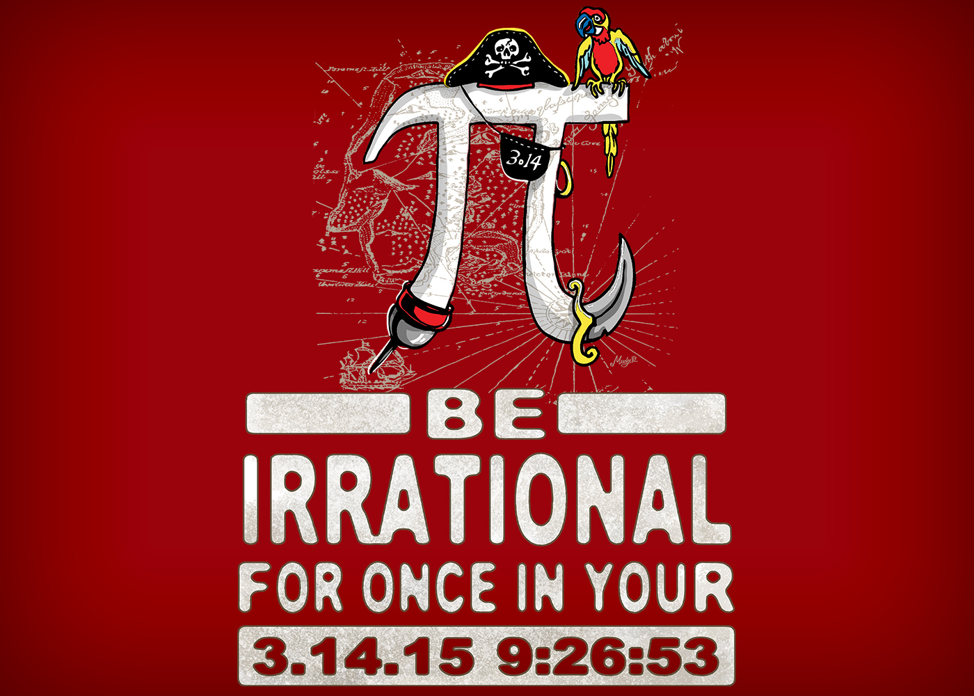 Shirt design rates - This Irrational Little Fella Walks The Math Plank Straight To Davey Jones Locker There S No Shortage Of Cleverness With This Pi Day T Shirt Design