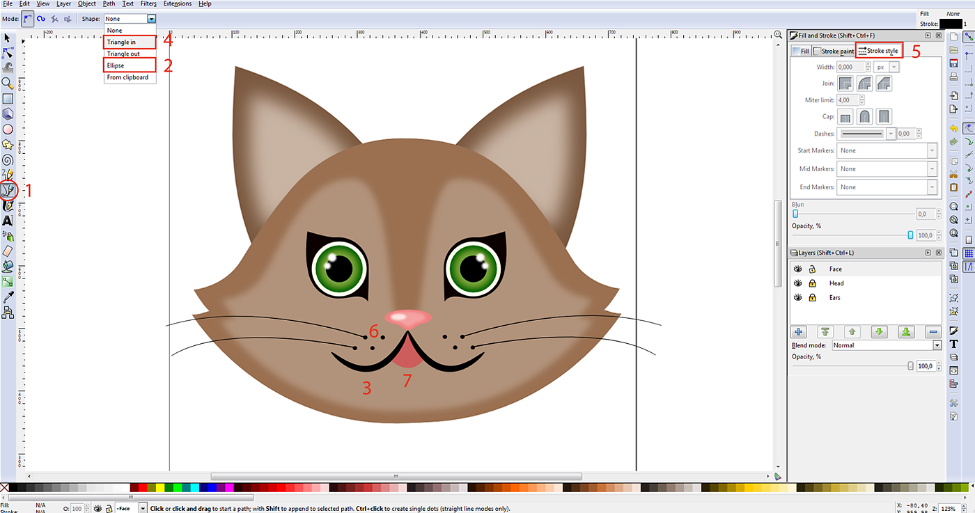 Vectorizing With Inkscape A Tutorial
