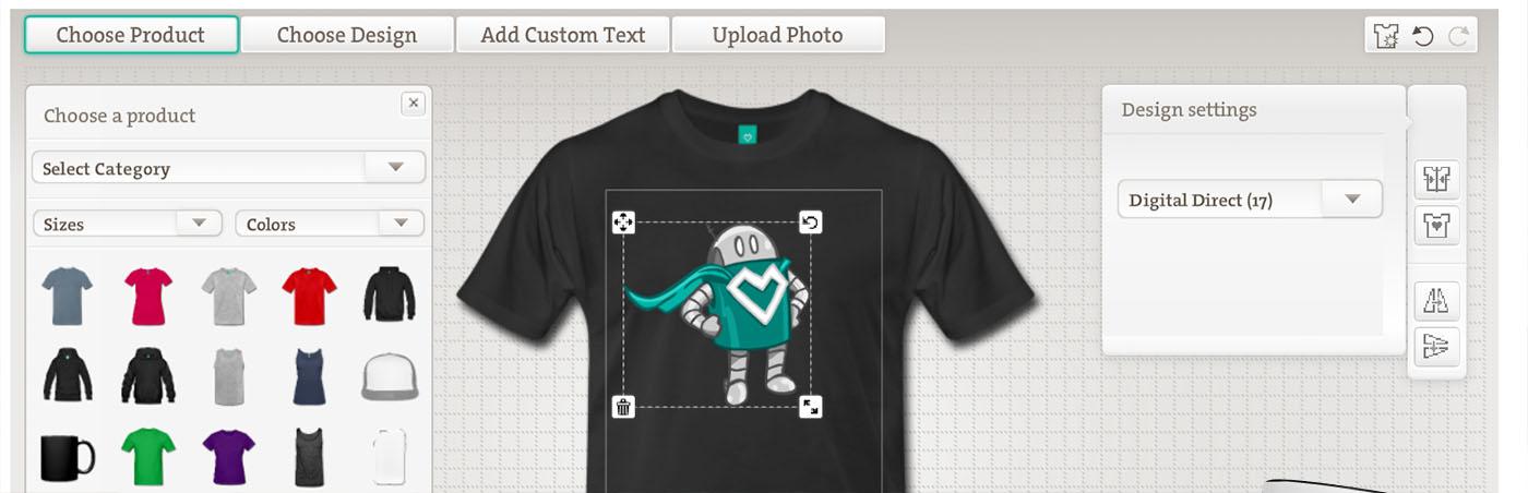 GFX Design on Tshirt