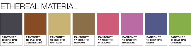 Pantone Color Of The Year 2017 Palette 2