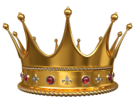 Glossy Golden Crown Vector Illustration Stock Photography - Image ...