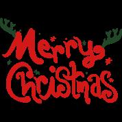 merry christmas text Full Color Mug | Spreadshirt