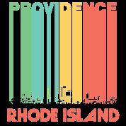 Retro providence rhode island skyline t shirt spreadshirt for T shirt printing providence ri