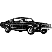 1968 Ford Mustang Fastback T-Shirt | Spreadshirt