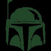 Boba Fett Helmet Worn T-Shirt | Spreadshirt