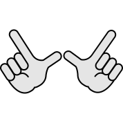 Image result for whatever hand sign