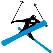 Freestyle skiing Knit Beanie