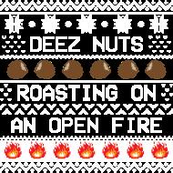 nuts roasting on a open fire