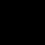 Vintage Style Badminton Logo