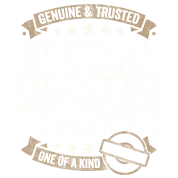 Special Education Teacher Gift Trusted Job Shirt