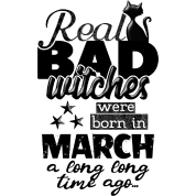Born in march real bad witches funny bday quotes by xsylx born in march real bad witches funny bday quotes voltagebd Choice Image
