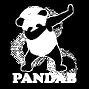 Pandab Gift Cool Panda Black White Dancing Dab