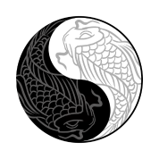 Yin yang koi fish chinese tai chi symbol pun by freshdressedtees yin yang koi fish chinese tai chi symbol pun publicscrutiny Image collections