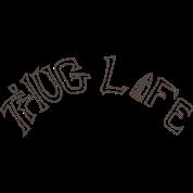 Thug Life Tattoo By Niftees