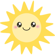 Cute happy sun T-Shirt | Spreadshirt