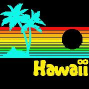 1980s Vintage Retro Hawaii