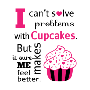 cute humorous cupcake quotes happiness