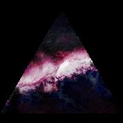 triangle galaxy Hoodie...