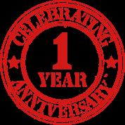 Celebrating 1 Year Anniversary