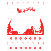 Jeep Ugly Christmas Sweater T-Shirt | Spreadshirt