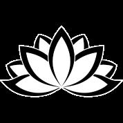 Original black white buddhist symbol lotus flower by dimkadnb original black white buddhist symbol lotus flower mightylinksfo Image collections