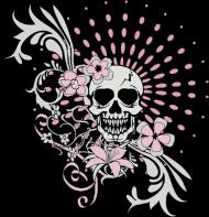 girly skull