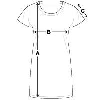 Women's T-Shirt Dress | US Blanks US401