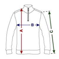 Unisex Hanes Quarter Zip Pullover