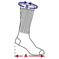 7 inch Cuff Crew Socks
