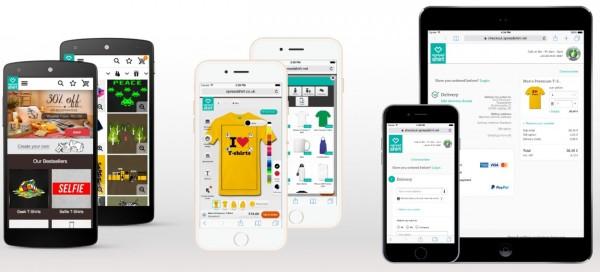 Grafik Mobile Experience ohne logo text